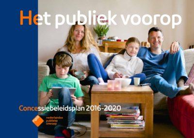 NPO Concessiebeleidsplan