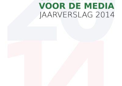 Jaarverslag 2014 Commissariaat voor de Media